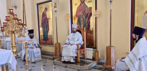 Епископ Алексий совершил Литургию во Вселенскую родительскую (мясопустную) субботу
