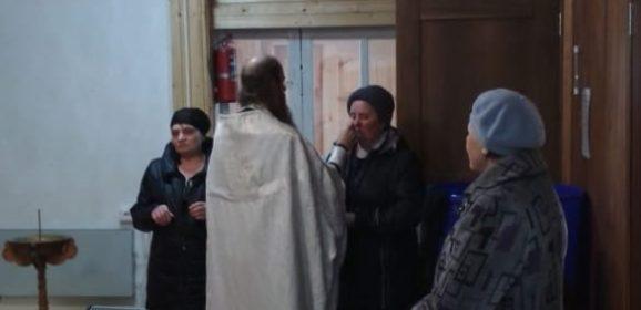 В Дерябино совершено Таинство Соборования