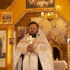 Пасха в храме Новомучеников и исповедников Церкви Русской при ИК-54 в Новой Ляле