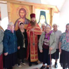 Первое богослужение в храме Свт. Игнатия (Брянчанинова) с. Кордюково