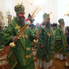 Преосвященный Феодосий, епископ Нижнетагильский и Невьянский принял участие в праздничных богослужениях в день праведного Симеона в Свято-Николаевской обители Верхотурья
