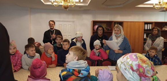 Начало учебного года в воскресной школе города Серова