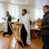 Священники освятили здание ЮЗП (г.Краснотурьинск)